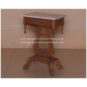 IOT-103,-LYRE-LAMP-TABLE-45-x-35-x-70cm,-EUROPEAN-PINE-WAX-(2)